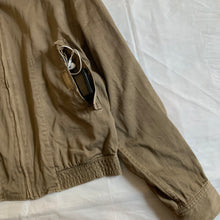 Load image into Gallery viewer, 1980s Katharine Hamnett High Neck Beige Cargo Blouson - Size L