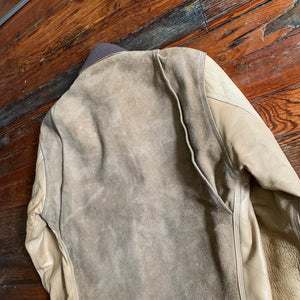 1997 General Research Leather Worker Jacket - Size M