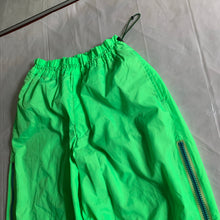 Load image into Gallery viewer, aw2000 Issey Miyake Electric Green Trackpants - Size L