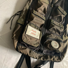 Load image into Gallery viewer, 1980s Vintage Yoshida & Co Luggage label Cargo Backpack by Koichi Yamaguchi - Size OS