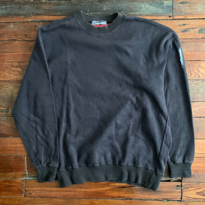 1980s Issey Miyake Faded Earth Tone Crewneck Sweater - Size L
