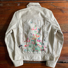 Load image into Gallery viewer, 2000s Issey Miyake x Lee Jean x Naoki Takizawa Illustrated Denim Jacket - Size S