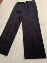 Load image into Gallery viewer, 2000s Samsonite Active Wear Black Workpants with Buckle Belt by Neil Barrett - Size L