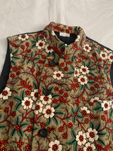 Load image into Gallery viewer, ss2018 CDGH+ Natural Toned Embroidered Vest - Size S