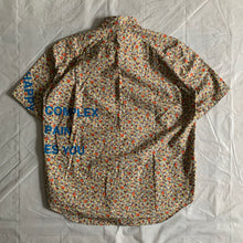 Load image into Gallery viewer, ss2002 Junya Watanabe Multi Colored Poem Shirt - Size M