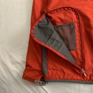 2000s Vintage TUMI Burnt Orange Traveler Jacket - Size XL