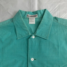 Load image into Gallery viewer, 2000s Issey Miyake Bleached Teal Shirt - Size XL