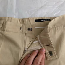 Load image into Gallery viewer, 2000s Samsonite Active Wear Beige Technical Cargo Pants by Neil Barrett - Size M