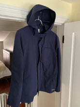 "Load image into Gallery viewer, 2000s Samsonite ""Travel Wear"" Navy Technical Hooded Jacket by Neil Barrett - Size M"