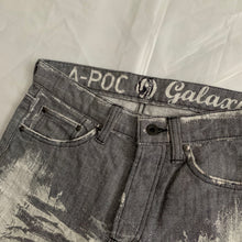 Load image into Gallery viewer, aw2007 Issey Miyake APOC Faded Grey Denim - Size S