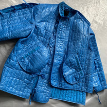 Load image into Gallery viewer, ss2015 Craig Green Metallic Blue Samurai Jacket - Size OS