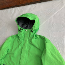 Load image into Gallery viewer, ss2005 Junya Watanabe x Goretex x Goldwin Slime Green Convertible Bag Jacket - Size S