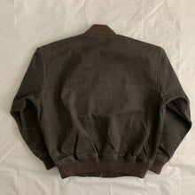 Load image into Gallery viewer, 1980s CDGH Dark Grey Bomber Jacket - Size L