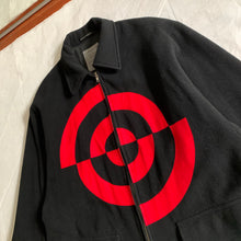 "Load image into Gallery viewer, aw1990 Yohji Yamamoto Bullseye ""Don't Shoot Me"" Hunting Jacket - Size XL"