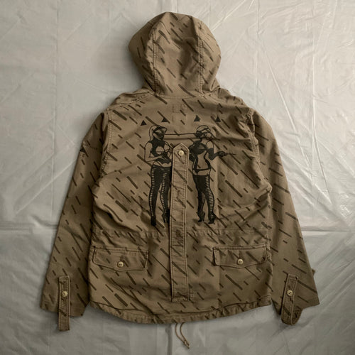 aw2012 Cav Empt x Neighborhood Strichtarn Camo Mountain Smock - Size S