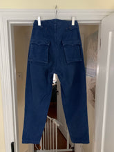 Load image into Gallery viewer, 1980s Katharine Hamnett High Waist & Tapered Military Trousers - Size M