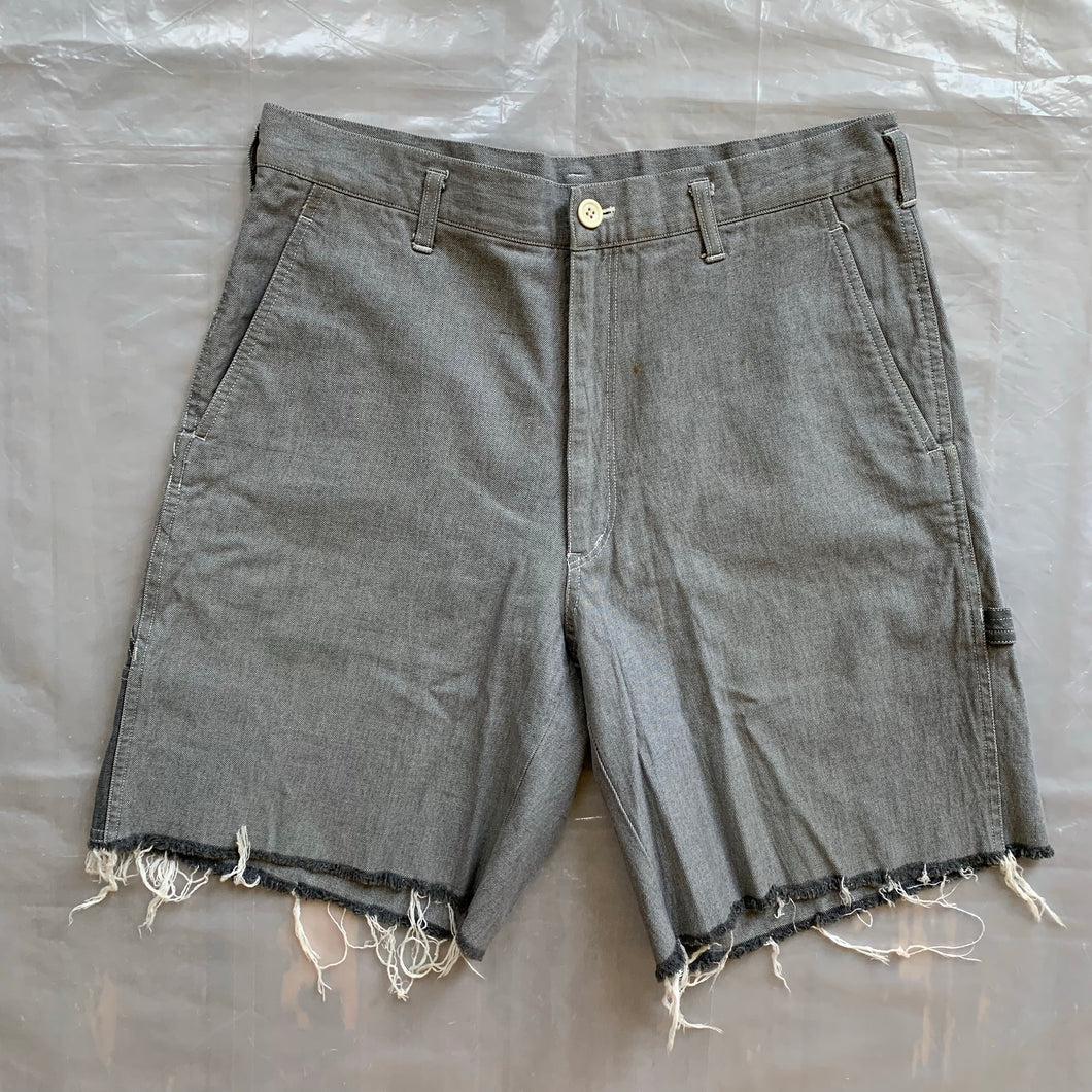 1990s CDGH Distressed Carpenter Shorts - Size L