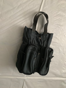 2000s Issey Miyake Transformable Nylon Hand Bag - Size OS