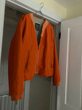 Load image into Gallery viewer, 1990s Armani Orange Nylon Safety Work Jacket - Size XL
