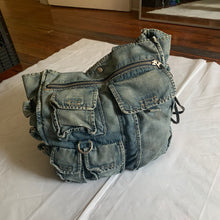 Load image into Gallery viewer, ss2005 Junya Watanabe Denim Cargo Tote Bag -  Size OS
