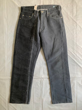 Load image into Gallery viewer, 2000s CDGH Reconstructed Split Demin Pants - Size S