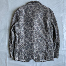Load image into Gallery viewer, 1997 CDGH+ Polyester Mesh Paisley Jacket - Size S
