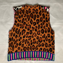 Load image into Gallery viewer, ss2018 CDGH+ Reversible Leopard Print Vest - Size M