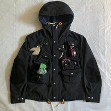 Load image into Gallery viewer, 2011 Junya Watanabe Black Nylon/Corduroy Blend Multipocket Jacket - Size M