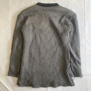 1999 CDGH Layered Mesh Knit Sweater - Size L