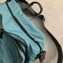 Load image into Gallery viewer, aw2000 Issey Miyake Teal Convertible Tactical Travel Bag - Size OS