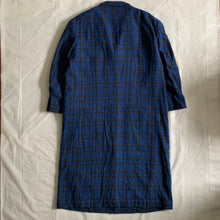 Load image into Gallery viewer, aw1996 Yohji Yamamoto Wool Plaid Long Coat - Size M