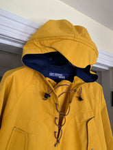 Load image into Gallery viewer, aw2005 Junya Watanabe Yellow Water Resistant Anorak with Bungee Closure - Size M