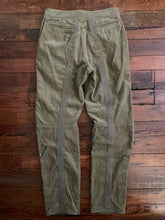Load image into Gallery viewer, 1998 General Research Thick Khaki Corduroy Parasite Pants with Orange Knee Pads - Size M