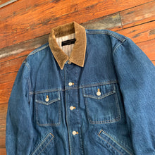 Load image into Gallery viewer, 1980s CDGH Heavy Denim Chore Jacket - Size L