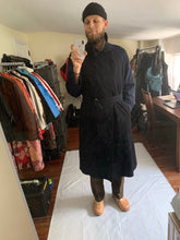 Load image into Gallery viewer, ss1998 Yohji Yamamoto Oversize Jersey and Gabardine Trench Coat - Size OS