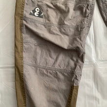 Load image into Gallery viewer, aw2016 Cav Empt Earth Tone Color Blocked Baggy Paneled Pants - Size M
