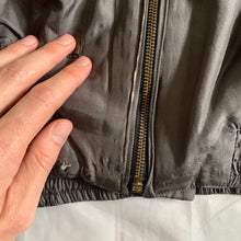 Load image into Gallery viewer, 1983 Katharine Hamnett Padded Silk Cargo Bomber - Size L