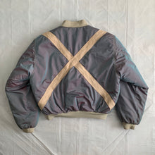 Load image into Gallery viewer, 1990s Armani Iridescent Oversized Bomber Jacket - Size OS