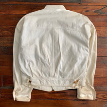 Load image into Gallery viewer, 1990s Issey Miyake Cream Oversized Denim Jacket - Size M
