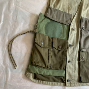 ss2001 Margiela Reconstructed Hunting Vest - Size M