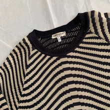 Load image into Gallery viewer, 1990s Armani Wavy Cotton Knit - Size L