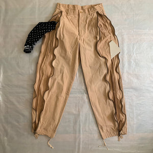 aw1999 Issey Miyake Baggy Front Zipper Cargos - Size M