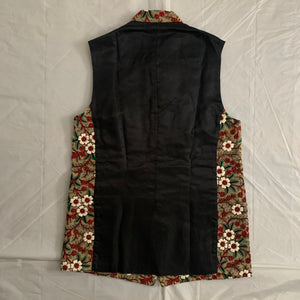 ss2018 CDGH+ Natural Toned Embroidered Vest - Size S