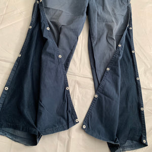 2000s Goodenough Ventilated Mesh Side Snap Seam Pants - Size S