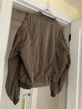 Load image into Gallery viewer, 1990s Armani Faded Brown Oversized Bomber Jacket with Contrast Detailing - Size XXL