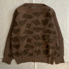 Load image into Gallery viewer, aw1983 Issey Miyake Geometric Spotted Mohair Sweater - Size L