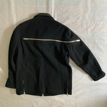 Load image into Gallery viewer, aw2004 Yohji Yamamoto Wool Front/Back Zip Hunting Jacket - Size L