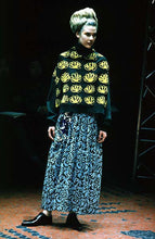 Load image into Gallery viewer, aw1996 CDG Floral Print Knitted Sweater - Size M