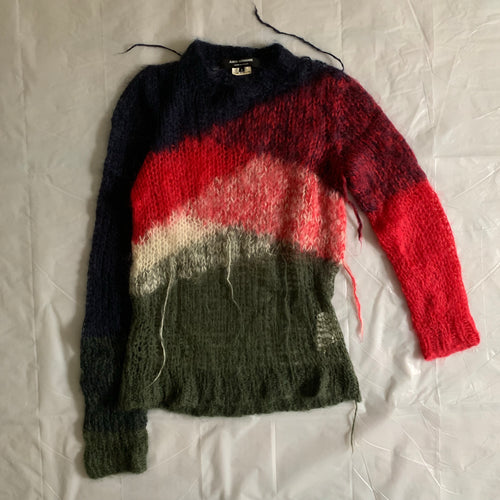 aw2006 Junya Watanabe Deformed Mohair Knit - Size S