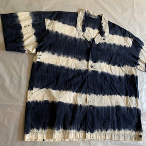 1980s Issey Miyake Dyed Striped Shirt - Size XL